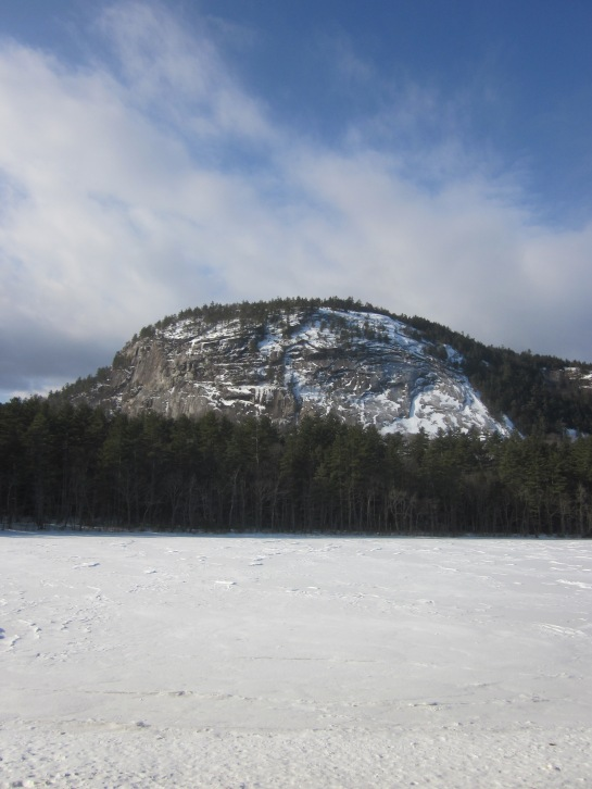 White Horse Ledge above Echo Lake in Conway, NH